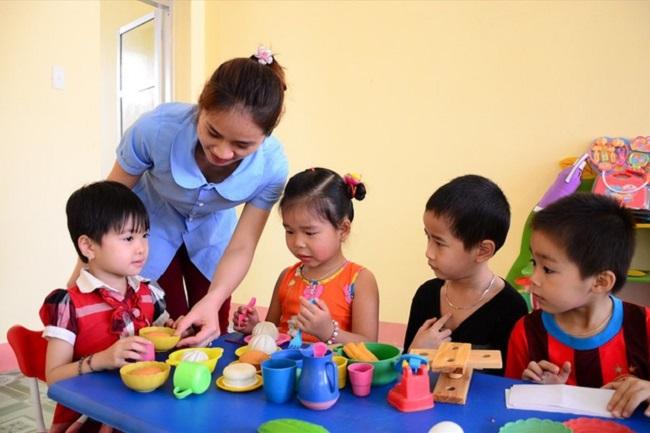 Học Trung cấp Mầm non tại trường Việt Hàn