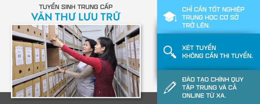 Học trung cấp văn thư tại Việt Hàn