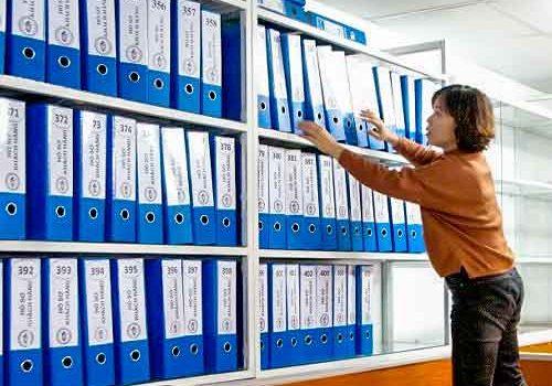 Học chứng chỉ văn thư lưu trữ