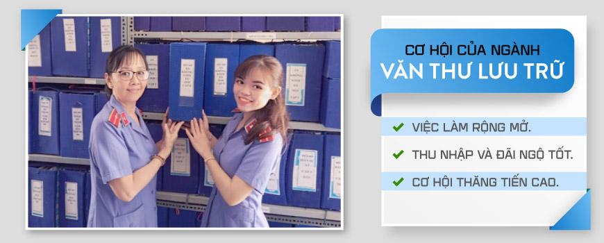 Tuyển sinh trung cấp văn thư tại Việt Hàn