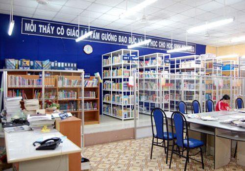 Chứng chỉ thư viện thiết bị trường học