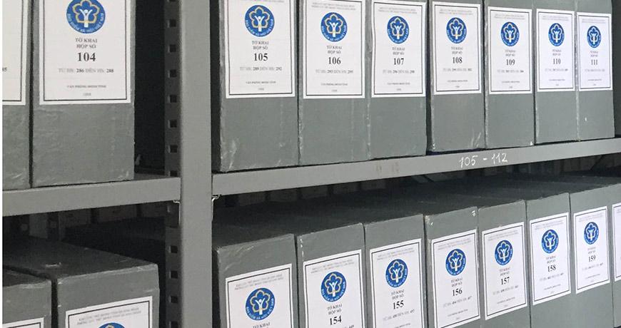 Trung cấp văn thư lưu trữ