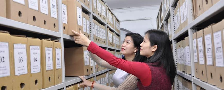 Trung cấp văn thư lưu trữ online từ xa