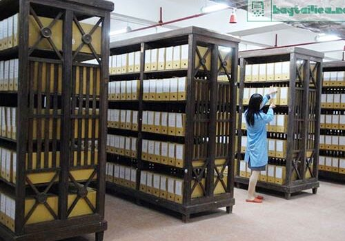 Công tác văn thư lưu trữ