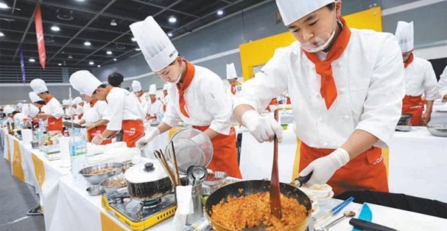 Học trung cấp kỹ thuật chế biến món ăn cấp tốc1
